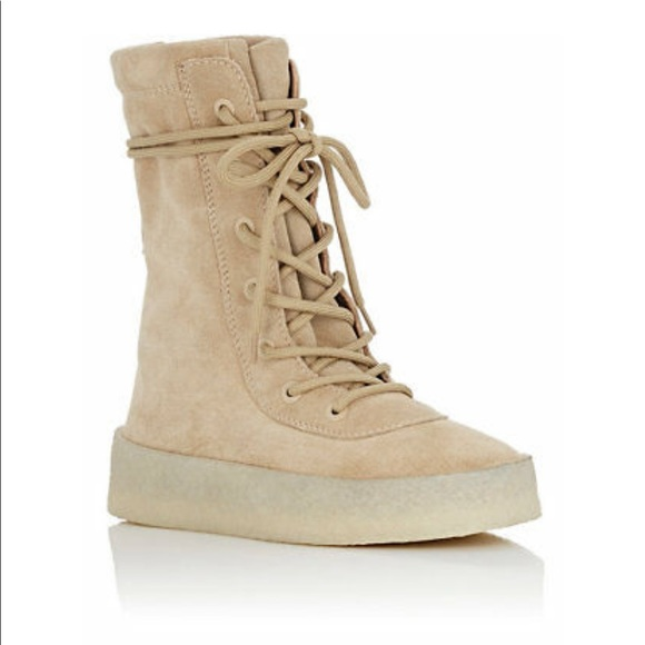 Yeezy Shoes | Military Crepe Boot